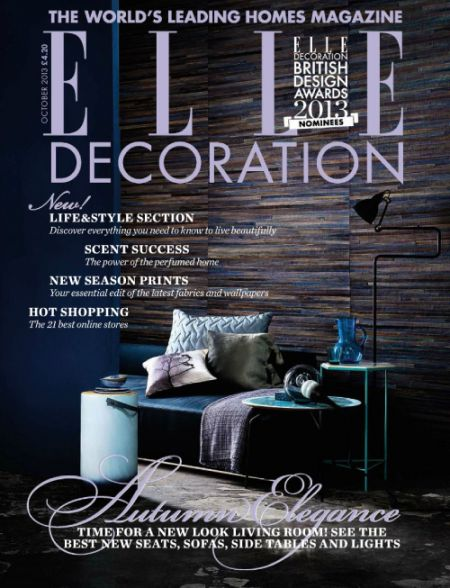 Elle Decoration UK - October 2013-1