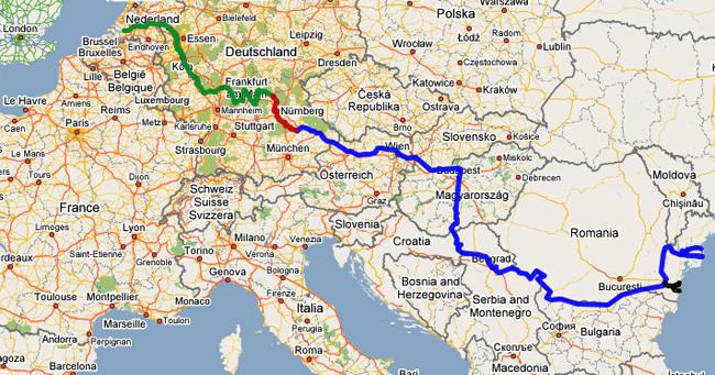 Gradski Eskizi 180 Proekt Dolen Dunav Rejn Evropejska